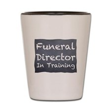 Funny Cemetery Shot Glass