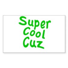 Super Cool Cuz Decal