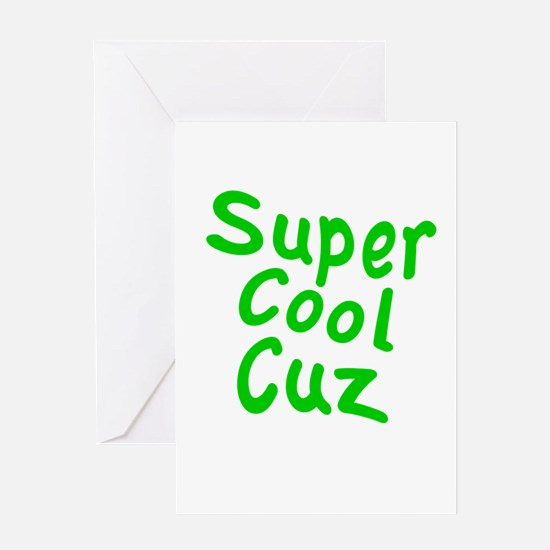 Super Cool Cuz Greeting Card