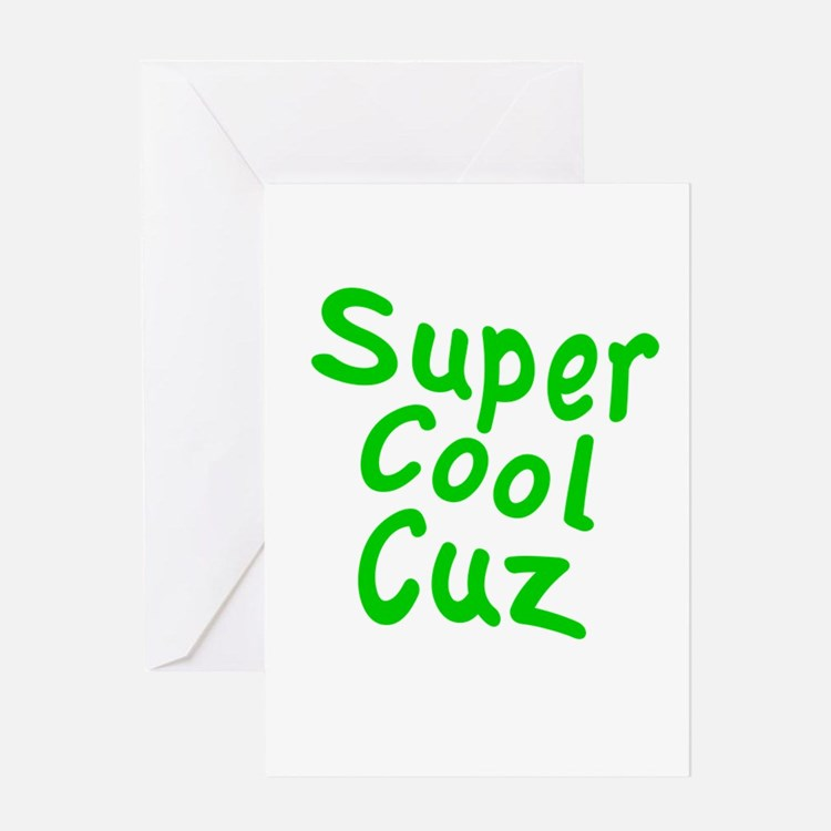 Super Cool Cuz Greeting Card