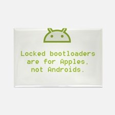 Android Unlocked Rectangle Magnet (100 pack)