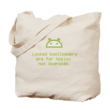 Android Unlocked Tote Bag