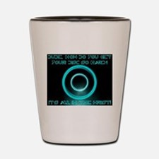 TRON - It's All In The Wrist Shot Glass
