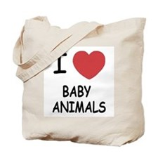 I heart baby animals Tote Bag