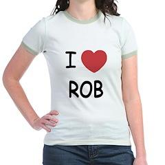 I heart rob Jr. Ringer T-Shirt
