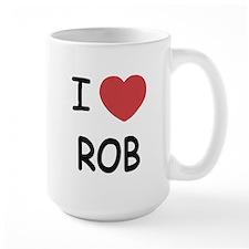 I heart rob Mug