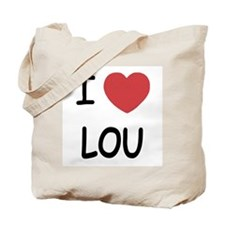 I heart lou Tote Bag
