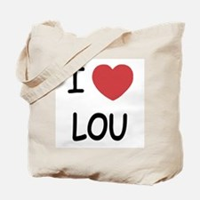 I heart lou Tote Bag
