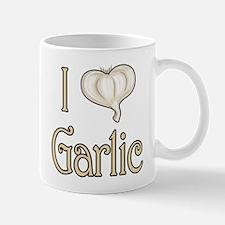 I heart garlic Mug