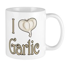 I heart garlic Small Mug