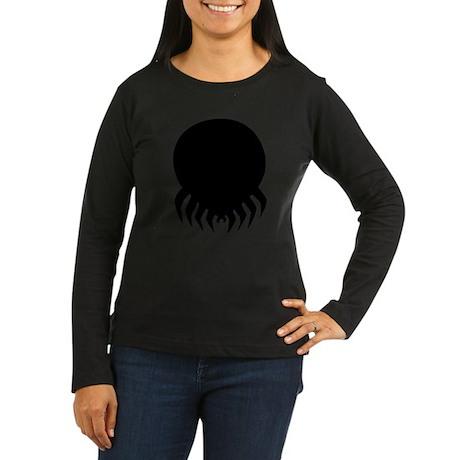 Tick Women's Long Sleeve Dark T-Shirt
