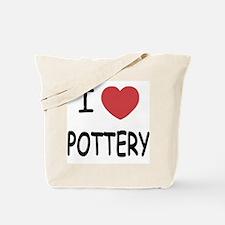 I heart pottery Tote Bag