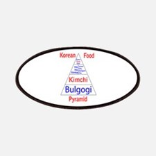 Korean Food Pyramid Patches