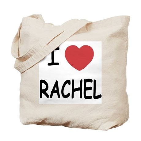I heart rachel Tote Bag