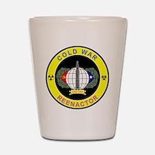COLD WAR REENACTOR Shot Glass