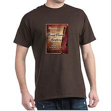 Bowed Psaltery Symphony Designs T-Shirt
