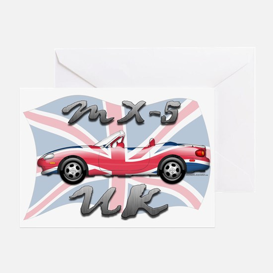 MX-5 UK MK II Greeting Card