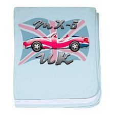 MX-5 UK MK II baby blanket