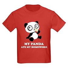 My Panda ate my homework T