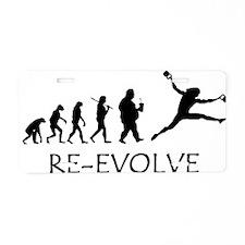 Re-Evolve Aluminum License Plate