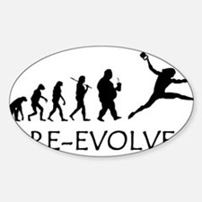 Re-Evolve Sticker (Oval)