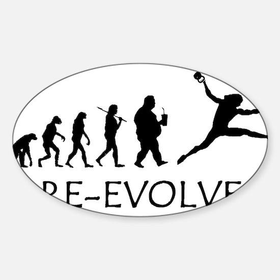 Re-Evolve Sticker (Oval)