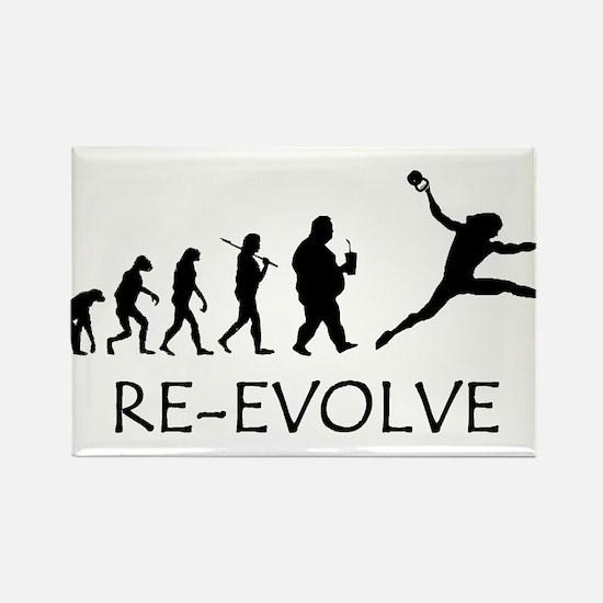Re-Evolve Rectangle Magnet