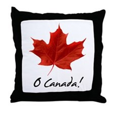 Unique Canadian Throw Pillow