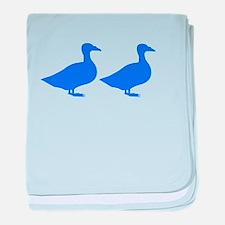 Duck Duck baby blanket