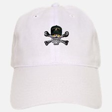 USN Seabees Skull Baseball Baseball Cap