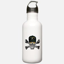 USN Seabees Skull Water Bottle