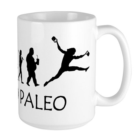 Go Paleo Large Mug