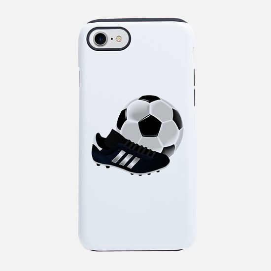 Soccer Ball And Shoes iPhone 7 Tough Case