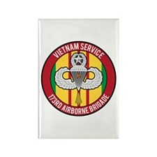 Vietnam 173rd Airborne Master Rectangle Magnet
