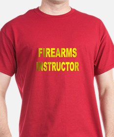 Firearms Instructor T-Shirt