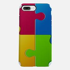 Autism Awareness Puzzle iPhone 7 Plus Tough Case