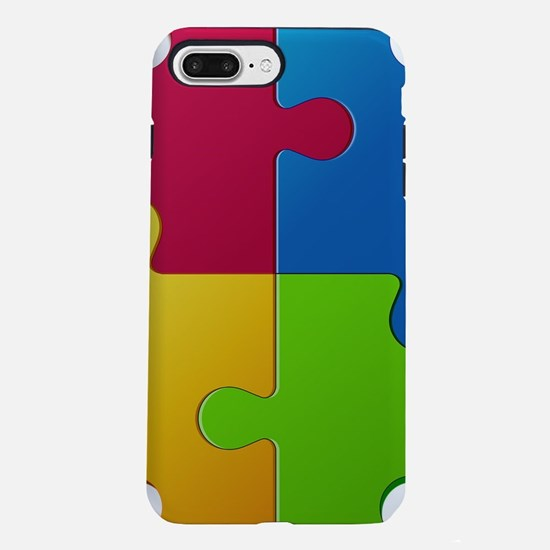 Autism Awareness Puzzle iPhone 7 Plus Tough Case
