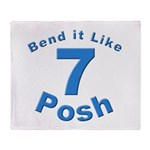 Be Posh with this Throw Blanket
