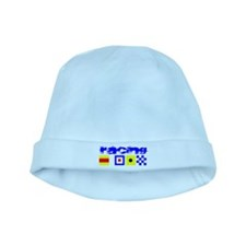 'Race 2 Win' in this baby hat
