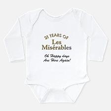 The Miserable Long Sleeve Infant Bodysuit