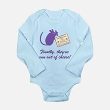 The Cheesey Long Sleeve Infant Bodysuit