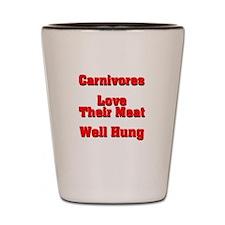 The Carnivore's Shot Glass