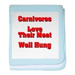 The Carnivore's baby blanket