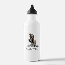 The Thinker's Water Bottle