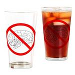 The No Brain Pint Glass