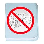 The No Brain baby blanket