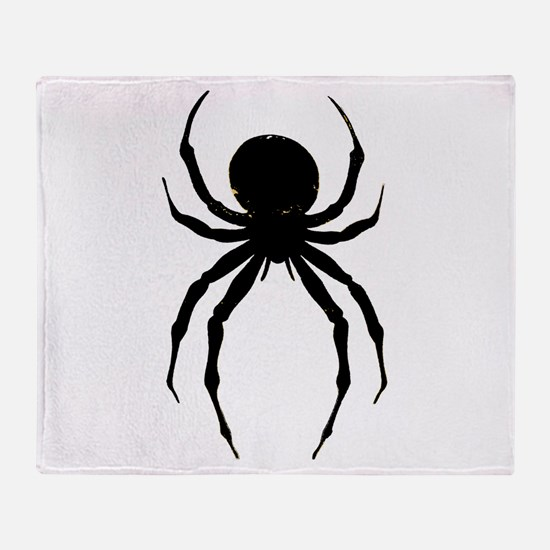 The Spider Throw Blanket