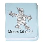 The Mummy's Girl baby blanket
