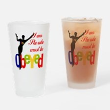 Quickly! ...Get her this Pint Glass