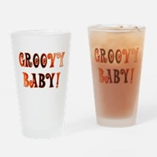 The Groovy Baby Pint Glass